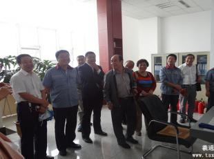 市区两级部分人大代表调研城市易胜博官网安全管理工作
