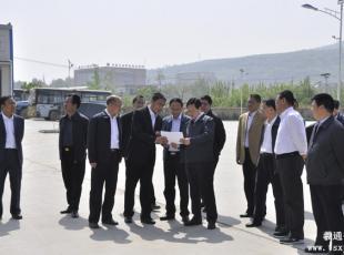 杨维俊市长在羲通易胜博官网团调研城市易胜博官网工作
